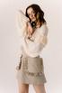 Платье корсаж под грудь бежевого цвета в прокат и аренду в Киеве. Фото 3