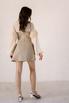 Платье корсаж под грудь бежевого цвета в прокат и аренду в Киеве. Фото 4
