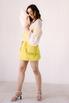 Платье-корсаж лаймового цвета в прокат и аренду в Киеве. Фото 3