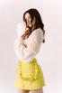 Платье-корсаж лаймового цвета в прокат и аренду в Киеве. Фото 4