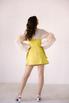 Платье-корсаж лаймового цвета в прокат и аренду в Киеве. Фото 6