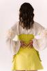 Платье-корсаж лаймового цвета в прокат и аренду в Киеве. Фото 7