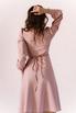 Розовое платье миди с треугольным вырезом в прокат и аренду в Киеве. Фото 7