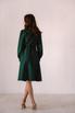 Темно-зеленое платье миди в прокат и аренду в Киеве. Фото 7