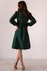 Темно-зеленое платье миди в прокат и аренду в Киеве. Фото 8