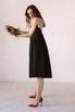 Платье-бюстье длины миди черного цвета в прокат и аренду в Киеве. Фото 3