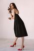Платье-бюстье длины миди черного цвета в прокат и аренду в Киеве. Фото 4