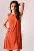 Оранжевое платье мини расшитое камнями в прокат и аренду в Киеве. Фото 3