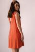 Оранжевое платье мини расшитое камнями в прокат и аренду в Киеве. Фото 6