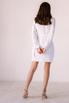 Белое платье-пиджак с поясом и длинным рукавом в прокат и аренду в Киеве. Фото 7