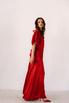 Красное шелковое платье с рукавами буф в прокат и аренду в Киеве. Фото 5