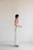 Платье-бюстье миди из шелка жемчужного цвета в прокат и аренду в Киеве. Фото 2