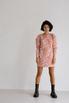 Платье из жаккарда с принтом цветы розового цвета цвета длины мини в прокат и аренду в Киеве. Фото 4