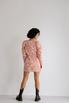 Платье из жаккарда с принтом цветы розового цвета цвета длины мини в прокат и аренду в Киеве. Фото 6
