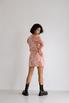 Платье из жаккарда с принтом цветы розового цвета цвета длины мини в прокат и аренду в Киеве. Фото 7