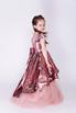 Детское розовое платье в пайетки с бантом в прокат и аренду в Киеве. Фото 4