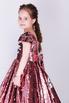 Детское розовое платье в пайетки с бантом в прокат и аренду в Киеве. Фото 2