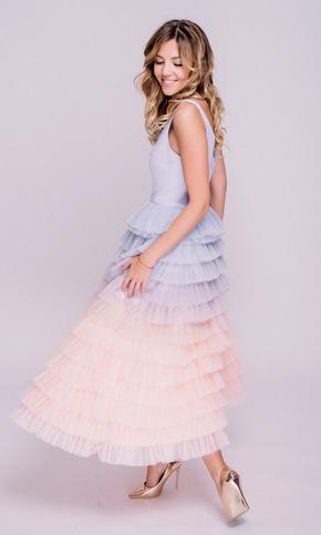 Сукня з лавандовим градієнтом в прокат и oренду в Киiвi. Фото 2