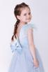 Детское голубое платье с бусинами в прокат и аренду в Киеве. Фото 2