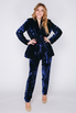 Ярко-синий костюм из пайеток в прокат и аренду в Киеве, Одессе, Харькове. Фото 2
