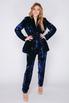 Ярко-синий костюм из пайеток в прокат и аренду в Киеве. Фото 1