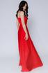 Красное платье в пол на тонких бретельках в прокат и аренду в Киеве, Одессе, Харькове. Фото 4