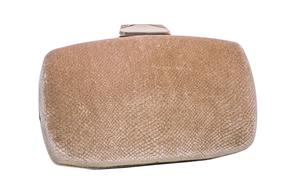 Бежевий клатч з зміїним візерунком в прокат и oренду в Киiвi. Фото 1
