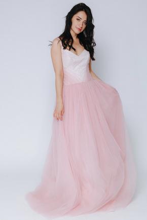 Рожеве плаття максі з мерехтінням в прокат и oренду в Киiвi. Фото 1