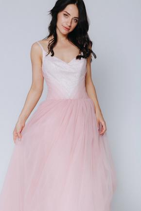 Рожеве плаття максі з мерехтінням в прокат и oренду в Киiвi. Фото 2