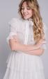 Белое платье с золотым мерцанием в прокат и аренду в Киеве, Одессе, Харькове. Фото 2