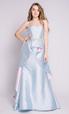 Голубое платье с переменной длиной в прокат и аренду в Киеве, Одессе, Харькове. Фото 1