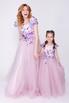 Детское платье лавандового цвета с аппликацией в прокат и аренду в Киеве. Фото 3
