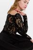 Черное платье в пол с длинным рукавом в прокат и аренду в Киеве. Фото 5