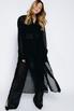 Платье-рубашка с черными брюками из структурированной ткани в прокат и аренду в Киеве. Фото 1