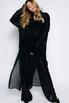 Платье-рубашка с черными брюками из структурированной ткани в прокат и аренду в Киеве. Фото 2