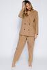 Брючный костюм песочного цвета с жакетом oversize в прокат и аренду в Киеве. Фото 2