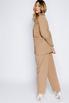 Брючный костюм песочного цвета с жакетом oversize в прокат и аренду в Киеве. Фото 4