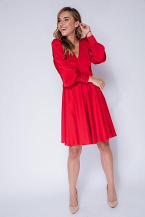 Червона сукня міні з довгим рукавом в прокат и oренду в Киiвi. Фото 2