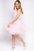 Нежно-розовое пышное платье длины мини в прокат и аренду в Киеве. Фото 3