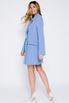 Платье-пиджак мини голубого цвета в прокат и аренду в Киеве. Фото 4