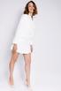 Белое платье-пиджак с длинным рукавом в прокат и аренду в Киеве, Одессе, Харькове. Фото 5