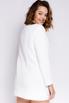 Белое платье-пиджак с длинным рукавом в прокат и аренду в Киеве. Фото 4