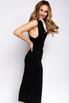 Черное платье-футляр миди с захлестами на спине в прокат и аренду в Киеве. Фото 4