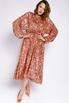 Платье миди из пайеток цвета розовое золото с открытой спиной в прокат и аренду в Киеве. Фото 3