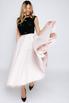 Платье миди с пышной юбкой и бархатным верхом в прокат и аренду в Киеве, Одессе, Харькове. Фото 3
