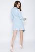 Голубое платье-пиджак с ассиметричным низом в прокат и аренду в Киеве. Фото 4