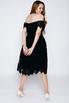 Черное платье миди из кружева в прокат и аренду в Киеве. Фото 3