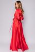 Красное платье в пол с длинным рукавом в прокат и аренду в Киеве. Фото 4