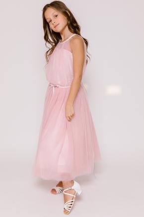 Пишне дитяче плаття ніжно-рожевого кольору в прокат и oренду в Киiвi. Фото 2