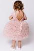 Детское пудровое платье из фатина с пышной юбкой в прокат и аренду в Киеве. Фото 4